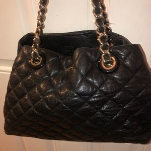Chanel Style Kate Spade Quilted Shoulderbag